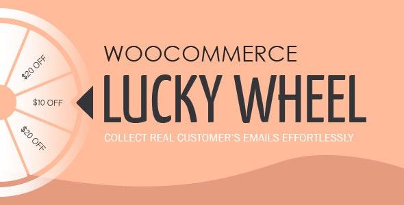 دانلود افزونه ووکامرس گردونه شانس WooCommerce Lucky Wheel