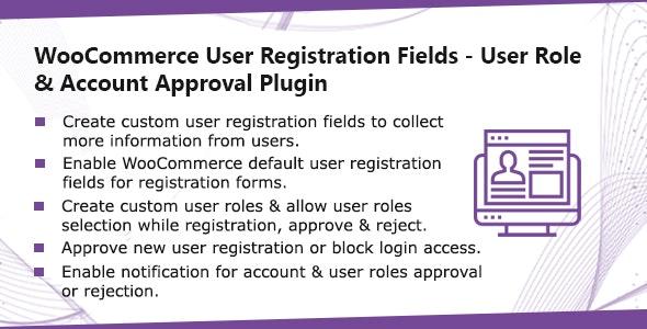 دانلود افزونه ووکامرس ثبت نام WooCommerce User Registration