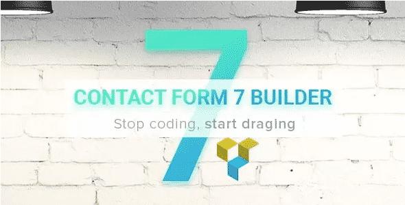 دانلود افزونه وردپرس فرم های تماس Contact Form 7 Builder