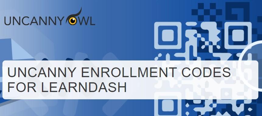 دانلود افزونه وردپرس Uncanny Learndash Enrollment Codes
