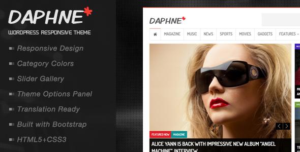 دانلود قالب وردپرس Daphne