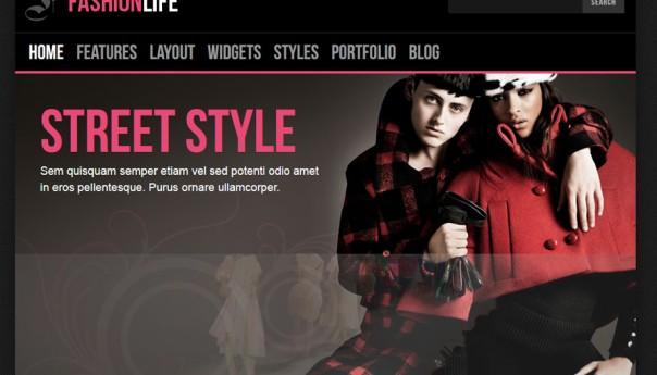دانلود قالب وردپرس FashionLife