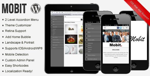 دانلود قالب وردپرس Mobit Premium Modern Mobile