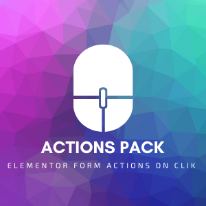 دانلود افزونه وردپرس Actions Pack برای المنتور