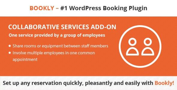 دانلود ادآن وردپرس Bookly Collaborative Services