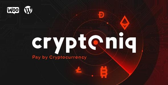 دانلود افزونه وردپرس پرداخت کریپتوکارنسی Cryptoniq Pro
