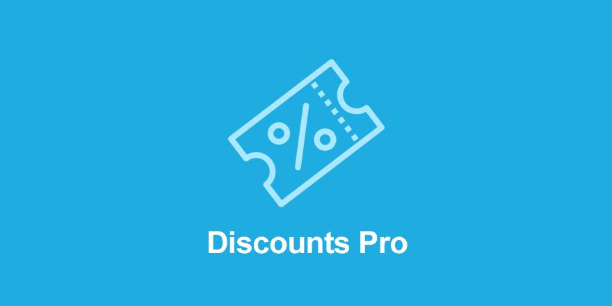 دانلود افزونه وردپرس Easy Digital Downloads Discounts Pro