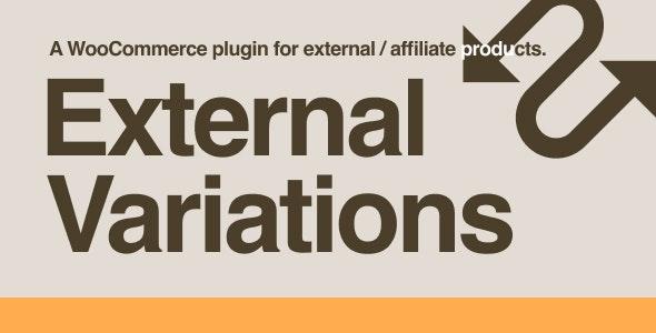 دانلود افزونه ووکامرس همکاری در فروش External Variations