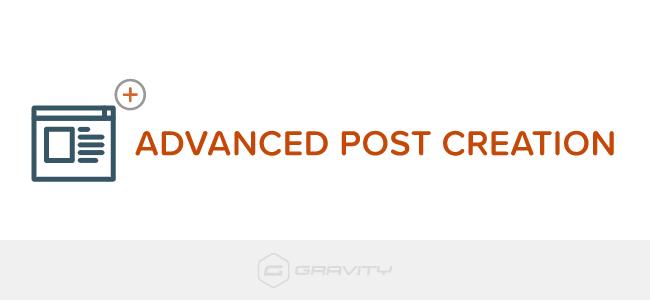 دانلود افزونه وردپرس Advanced Post Creation برای گرویتی فرم