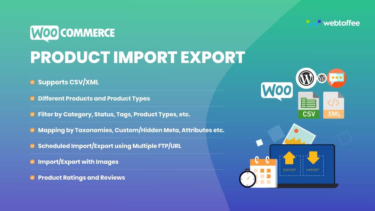 دانلود افزونه ووکامرس Product Import Export Plugin