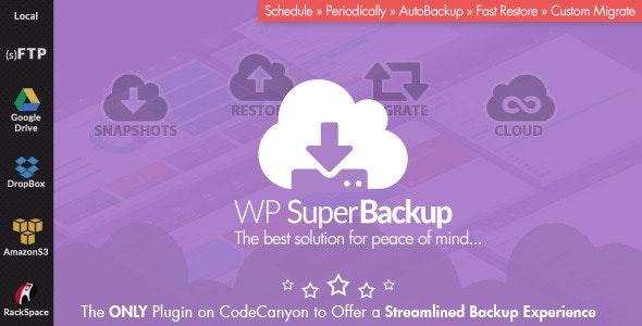 دانلود افزونه وردپرس بکاپ و کلون سایت WP SuperBackup