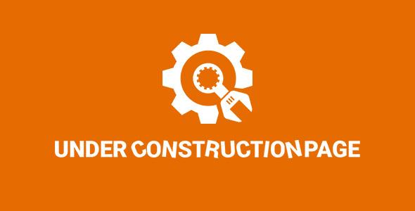 دانلود افزونه وردپرس Under Construction Page Pro