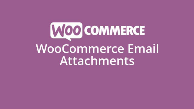 دانلود افزونه ووکامرس WooCommerce Email Attachments