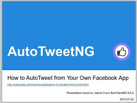 دانلود افزونه جوملا AutoTweet NG