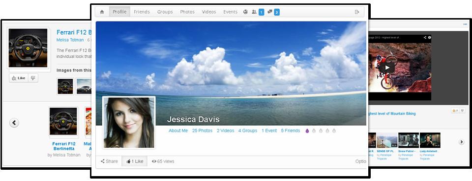 دانلود افزونه شبکه های اجتماعی جوملا JomSocial