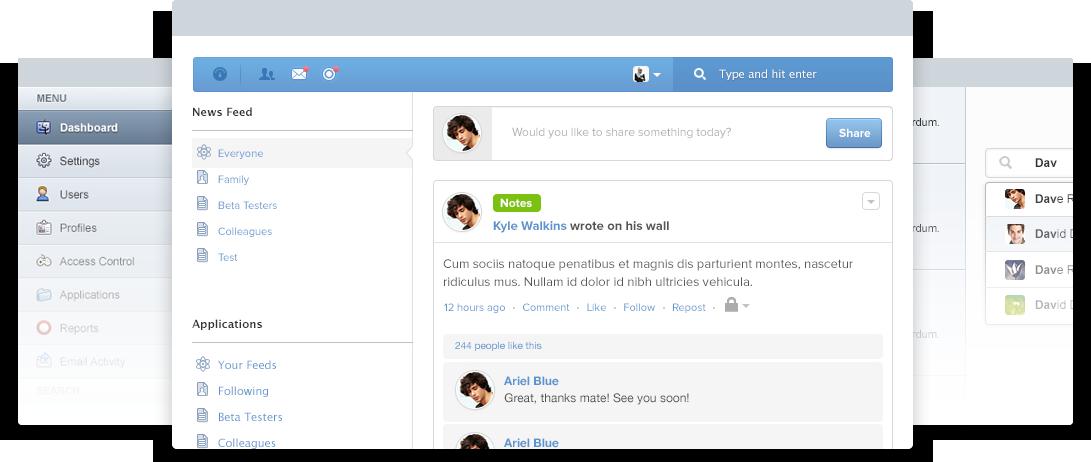 دانلود پلاگین شبکه اجتماعی جوملا EasySocial
