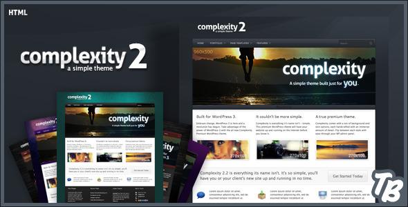 دانلود قالب HTMLسایت Complexity
