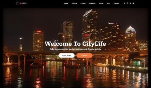 دانلود قالب جوملا Citylife
