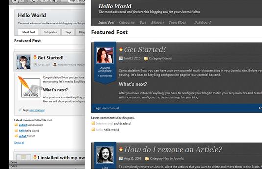 دانلود افزونه جوملا EasyBlog Professional