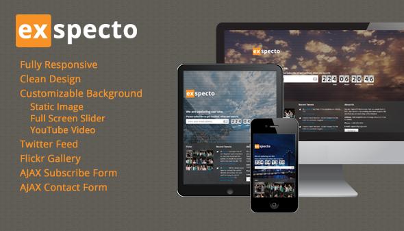 دانلود قالب HTML در دست طراحی Exspecto