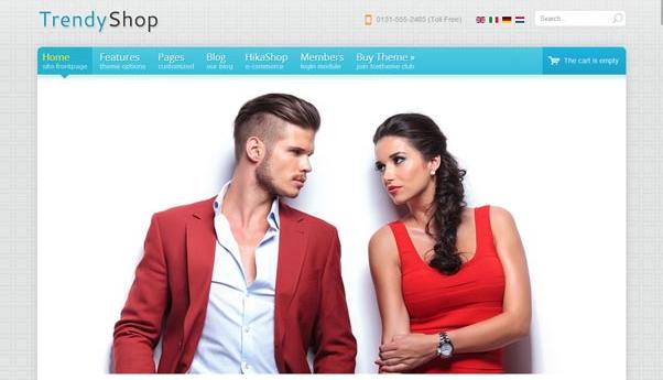 دانلود قالب فروشگاهی جوملا IT TrendyShop