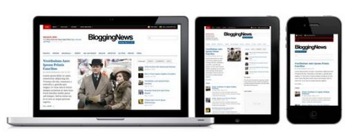 دانلود قالب خبری وردپرس BloggingNews