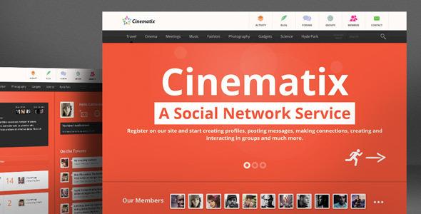 دانلود قالب بادی پرس Cinematix