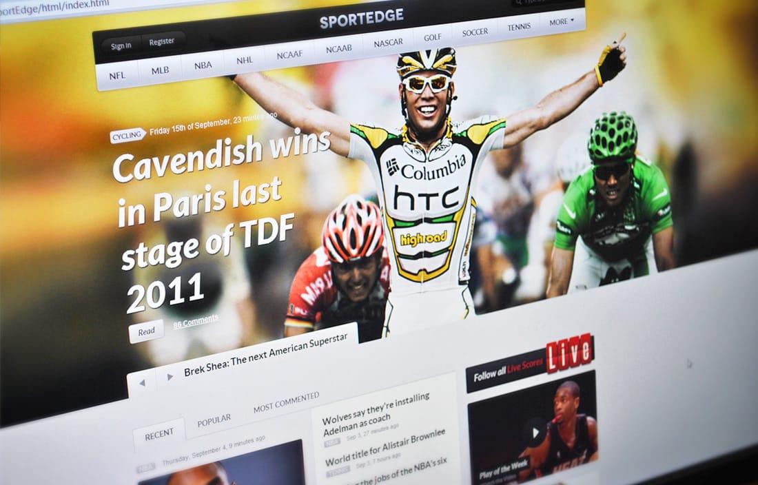 دانلود قالب ورزشی وردپرس Sportedge