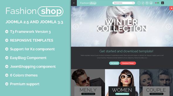 دانلود قالب فروشگاهی جوملا BT Fashion