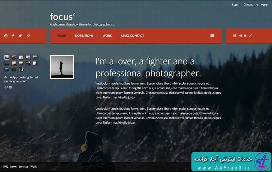 دانلود قالب جوملا JB Focus 2