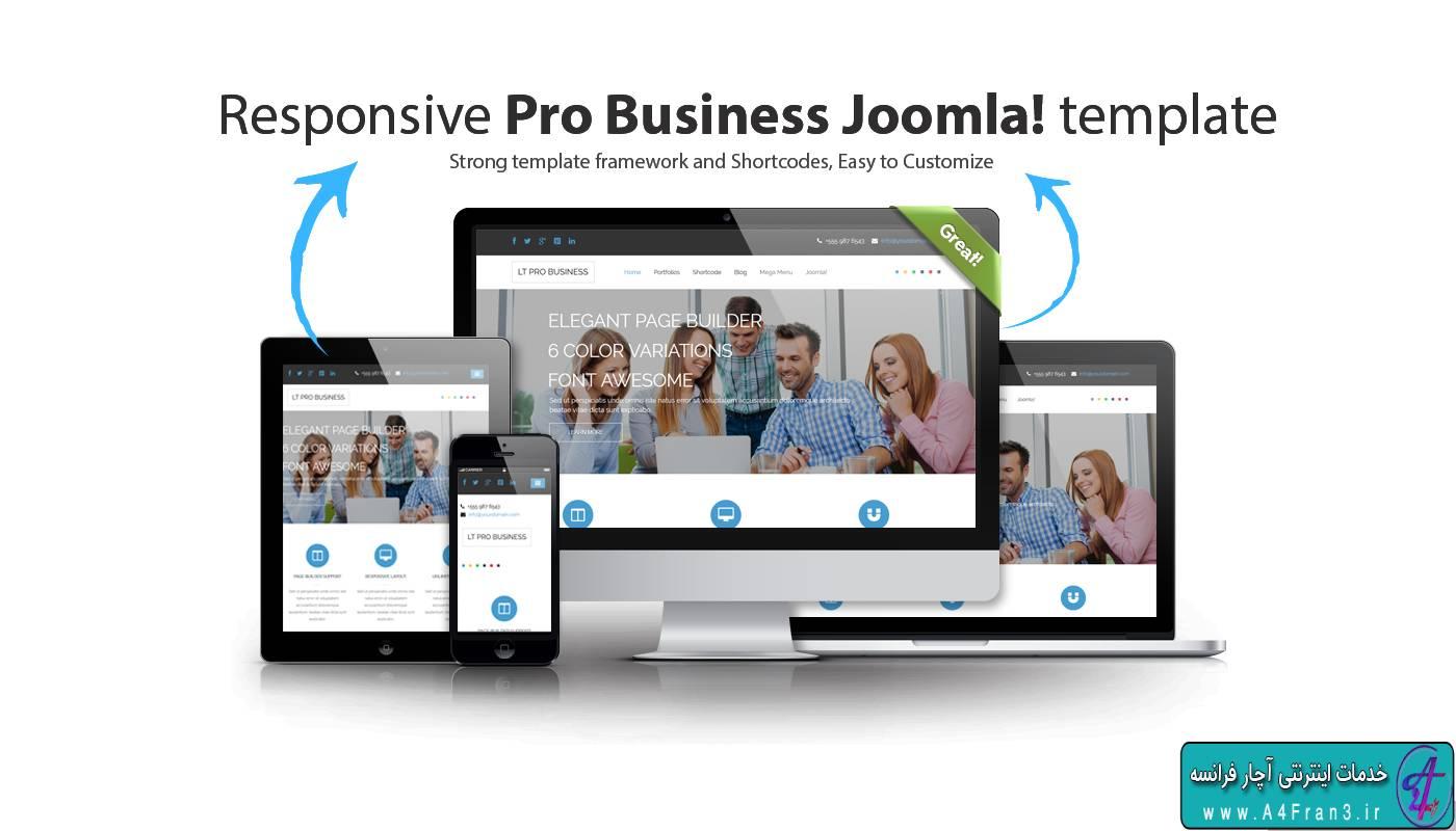 دانلود قالب تجاری جوملا LT Pro Business