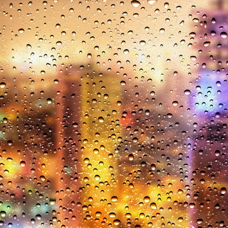 دانلود تکسچر پس زمینه قطرات باران