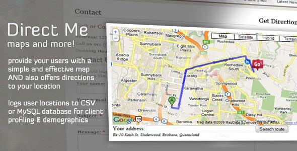 دانلود اسکریپت مسیریابی Direct Me
