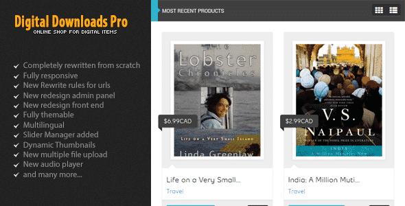 دانلود اسکریپت Digital Downloads Pro
