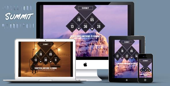 دانلود قالب HTML در دست طراحی Summit
