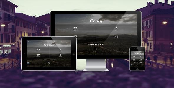 دانلود قالب HTML در دست طراحی Comy