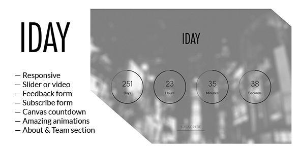 دانلود قالب HTML در دست طراحی 1Day