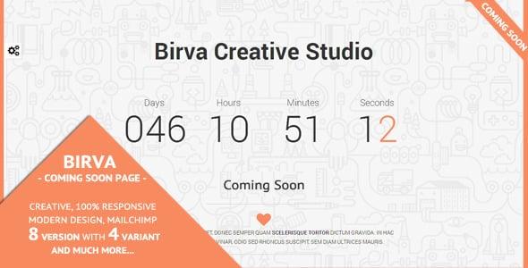 دانلود قالب HTML در دست طراحی Birva