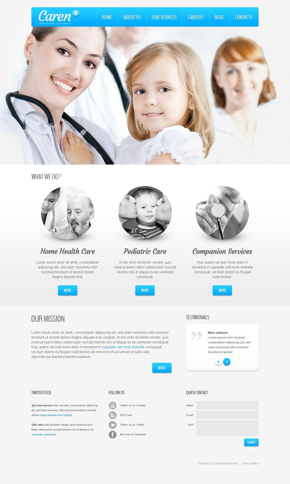 دانلود قالب وردپرس پزشکی Sterile Medical