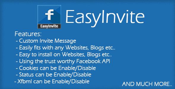 دانلود اسکریپت فیس بوکی EasyInvite