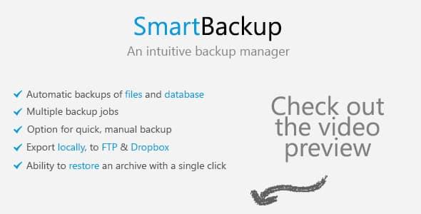 دانلود اسکریپت PHP پشتیبان گیری هوشمند SmartBackup
