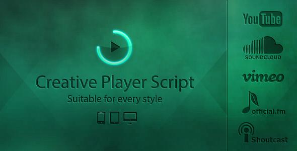 دانلود اسکریپت PHP پلیر Creative Player