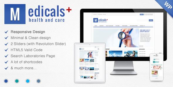 دانلود قالب وردپرس پزشکی و سلامتی Medicals