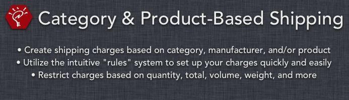 دانلود افزونه اپن کارت دسته بندی محصولات Category and Product-Based Shipping