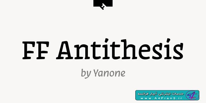 دانلود فونت لاتین FF Antithesis