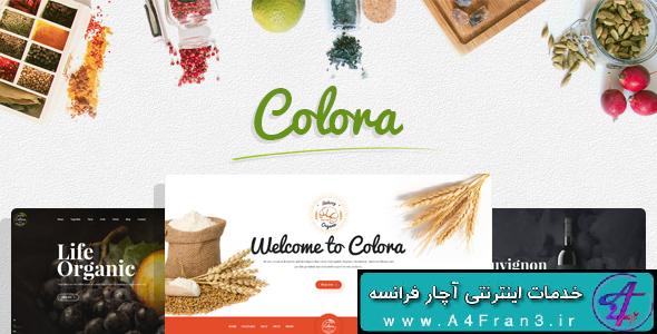 دانلود قالب فروشگاهی اپن کارت Colora