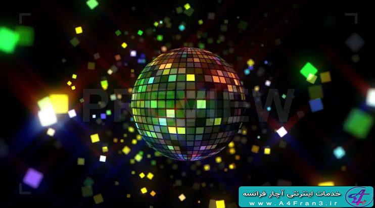 دانلود پروژه موشن گرافیک Neon Disco Ball