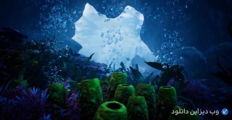 دانلود پروژه موشن گرافیک Beauty Under Water