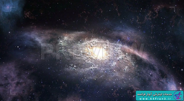 دانلود پروژه موشن گرافیک Nebula in deep space