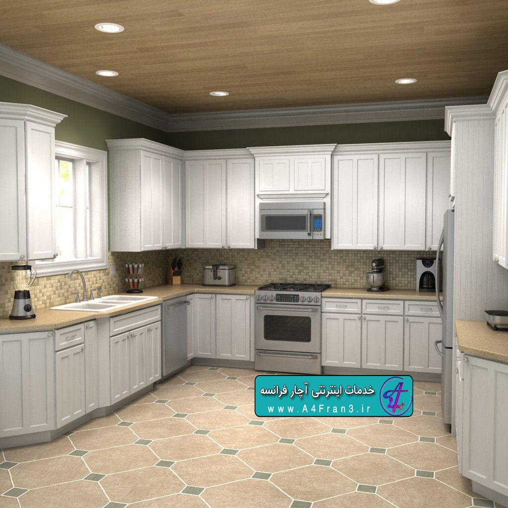 دانلود مجموعه مدل سه بعدی آشپزخانه 3D MODEL KITCHEN